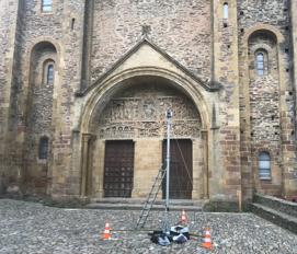 Tympan de l'Abbaye de Conques